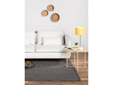 Tapis Sisal avec bordure Gris 300x400 cm - Tapis nature