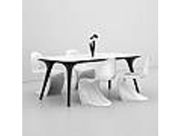 Table de salle à manger de design moderne faite en Italie, Pilo