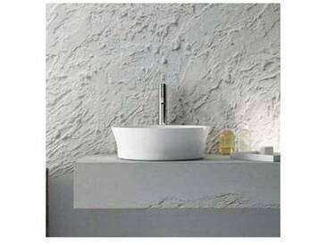 Lavabo à poser circulaire de design fabriqué en Italie, Desana