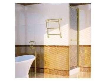Sèche-serviette électrique laiton or Scirocco H Sissi fait en Italie