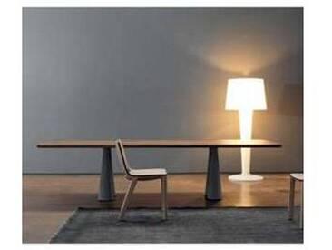 Bonaldo Still table de design en bois massif de noyer faite en Italie