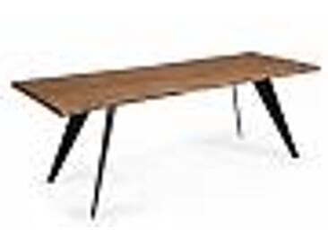 Table de design moderne en bois Bindo, 220x100 cm