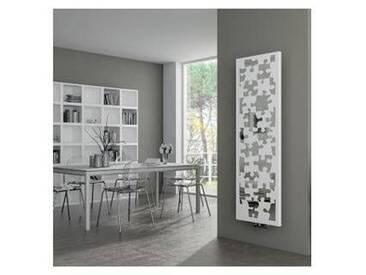Radiateur avec décoration puzzle et miroir Puzzlestyle