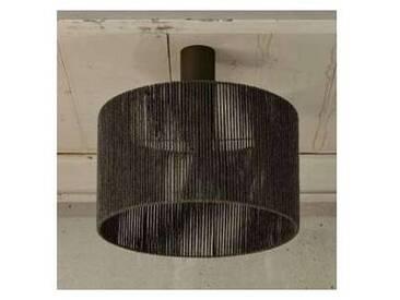 Plafonnier cylindrique de design moderne 100% cachemire Agape