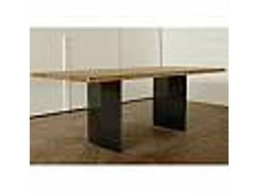 Table à manger moderne en chêne fabriquée en Italie 200x100cm Paul