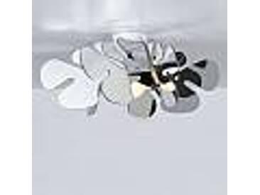 Plafonnier méthacrylate chromolite design moderne, L.53xP.53, Debora