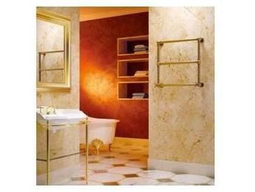 Sèche-serviette électrique or de luxe en laiton Scirocco H Turandot