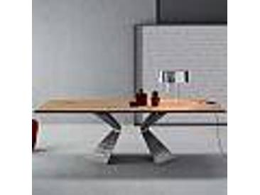 Bonaldo Prora table design bois massif chêne naturel faite en Italie