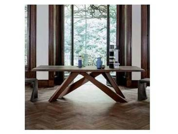 Bonaldo Big Table table en bois massif de design, faite en Italie