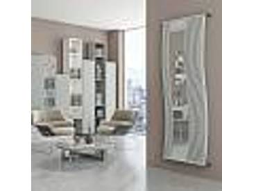 Radiateur design avec insert miroir Doppialinea Mirrorstyle