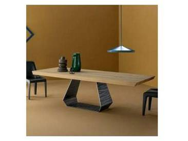 Bonaldo Amond table design en bois de chêne naturel faite en Italie