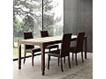 Table de salle à manger faite en bois massif de sapin