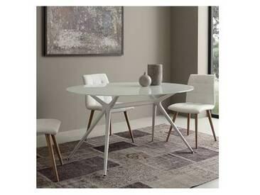 Table de salle à manger de design moderne elliptique Ziva
