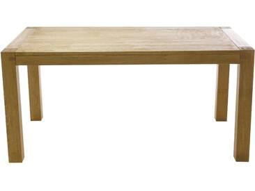 Table Rectangulaire Chêne 180 X 90 Cm Longère - Allonge 50 Cm En Option - Grenier Alpin