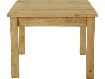 Table Repas Pin Massif 100x100 Cm Allonges En Option Terroir - Grenier Alpin