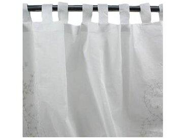 Voilage LYLAS à pattes (140x270cm) blanc