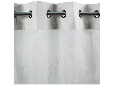 Voilage FRANCOIS à oeillets (110x260cm) blanc