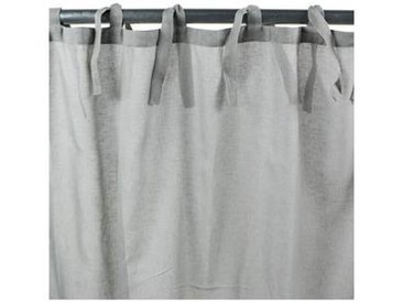 Voilage ROMANCE polyester 110x250 gris