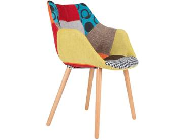 Chaise design twelve PATCHWORK par Zuiver