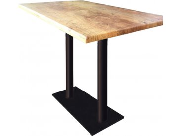 Table haute Oldwood