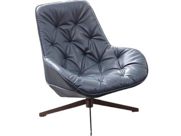 Fauteuil Lounge Trek gris