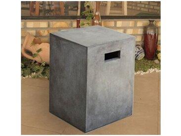 Tabouret Cube béton