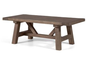 Iona, table basse, bois massif