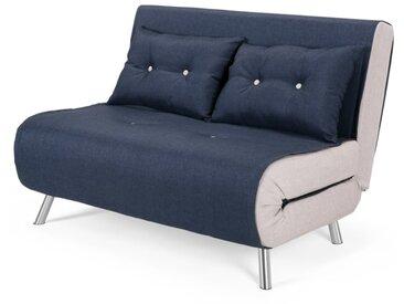 Haru, petit canapé convertible, bleu Quartz