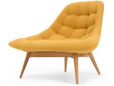 Kolton, fauteuil, jaune dor