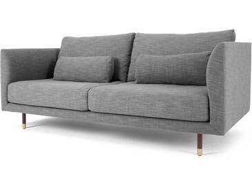 Jules, canapé 2 places, gris chiné