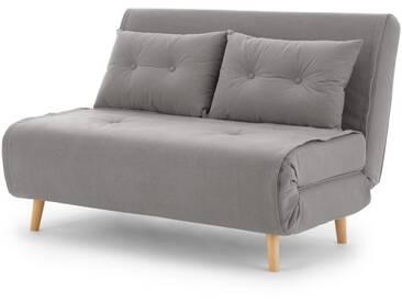 Haru, petit canapé convertible, gris chamallow