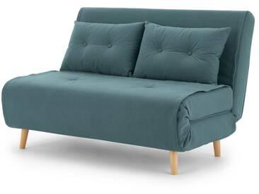 Haru, petit canapé convertible, bleu sorbet