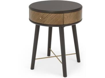 Belgrave, table de chevet avec tiroir, chêne teinté