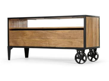 Humphrey, meuble TV, bois de manguier