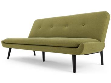 Edwin, canapé convertible clic-clac, vert genièvre