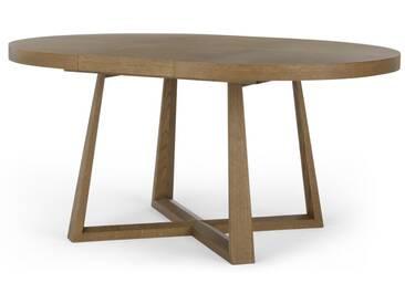 Belgrave, table à rallonge, chêne teinté