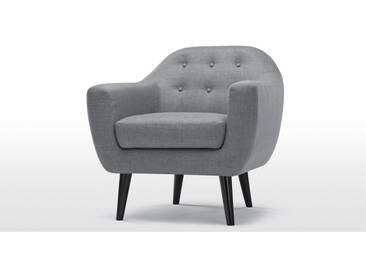 Ritchie, fauteuil, gris perle
