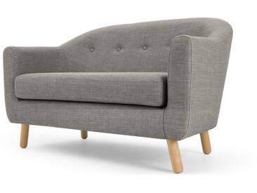 Lottie, canapé 2 places, gris craie