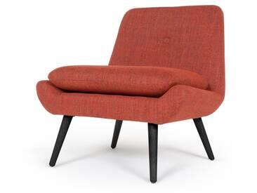 Jonny, fauteuil dappoint, orange