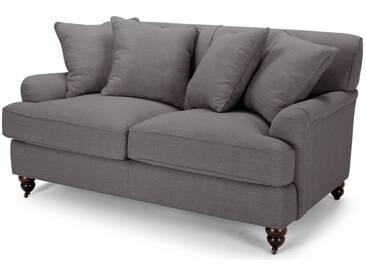 Orson, canapé 2 places avec coussins d'appoint, gris graphite
