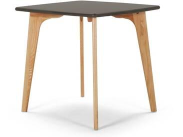 Fjord, table carrée, chêne et gris