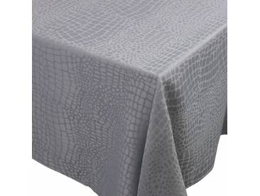 Nappe rectangle 150x250 cm Jacquard 100% polyester LOUNGE perle
