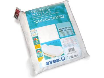 Protège matelas absorbant Antonin blanc 2x90x210 Spécial lit articulé TR