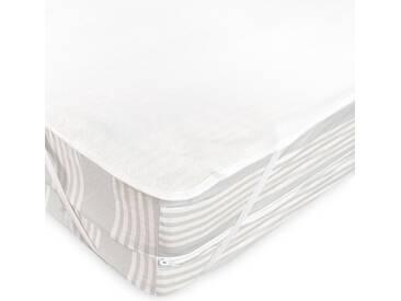 Alèse plate imperméable 180x200 cm ARNON molleton 100% coton contrecollé polyuréthane