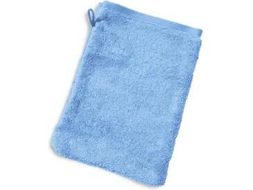 Gant de toilette 16x21 cm PURE Bleu Ciel 550 g/m2