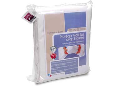 Protège matelas imperméable 90x220 cm ANTONY Molleton enduction acrylique