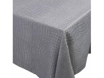 Nappe carrée 175x175 cm Jacquard 100% polyester LOUNGE perle