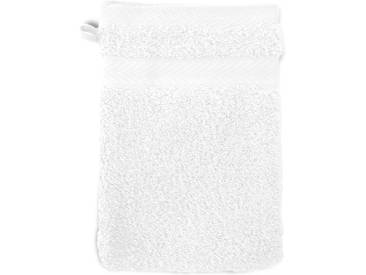 Gant de toilette 16x21 cm ROYAL CRESENT Blanc 650 g/m2