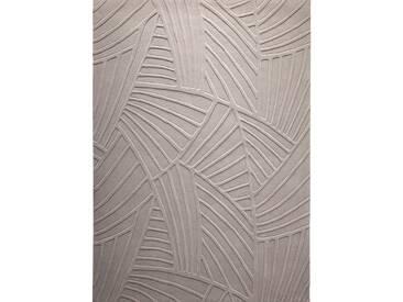 Tapis de salon taupe à relief Palmia par Esprit Home