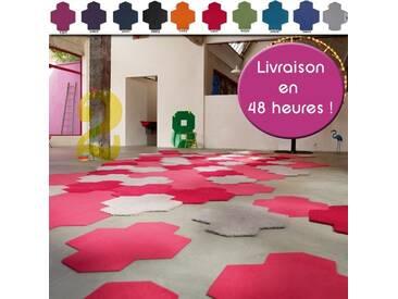 Valise de 8 dalles de tapis velours fin Vorwerk par Esprit Home à assembler